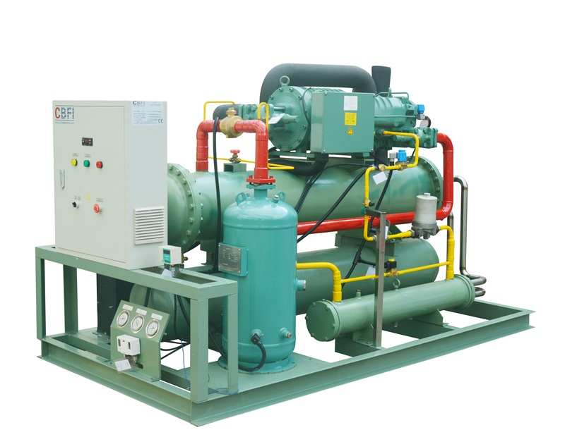 CBFI new arrival cold room unit for water pretreatment-5