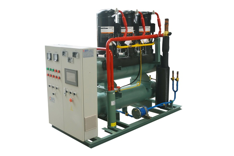 CBFI new arrival cold room unit for water pretreatment-6