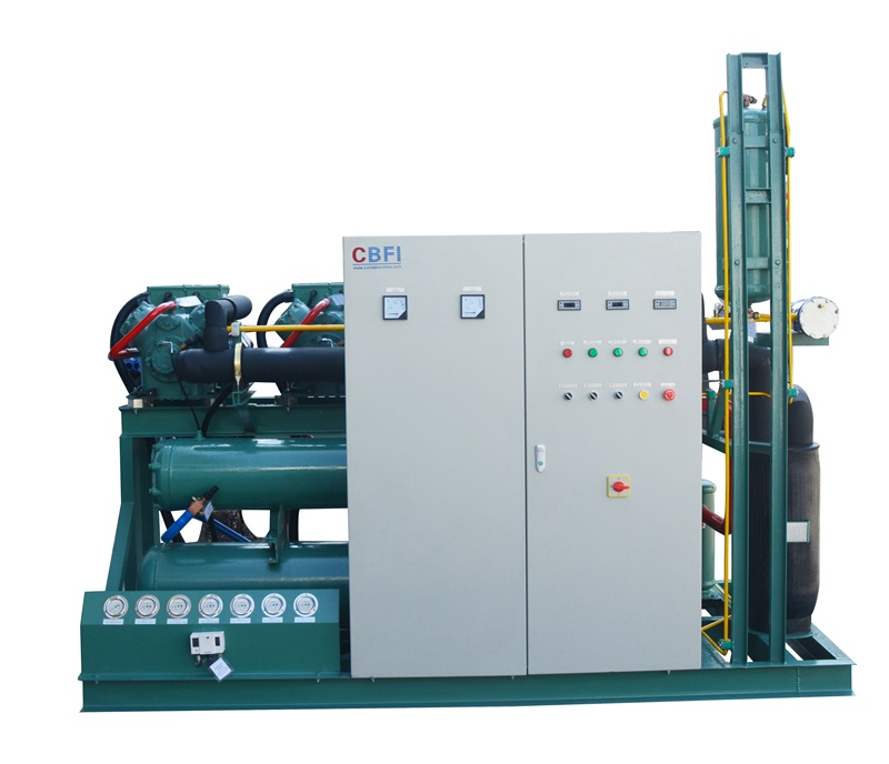 CBFI new arrival cold room unit for water pretreatment-7