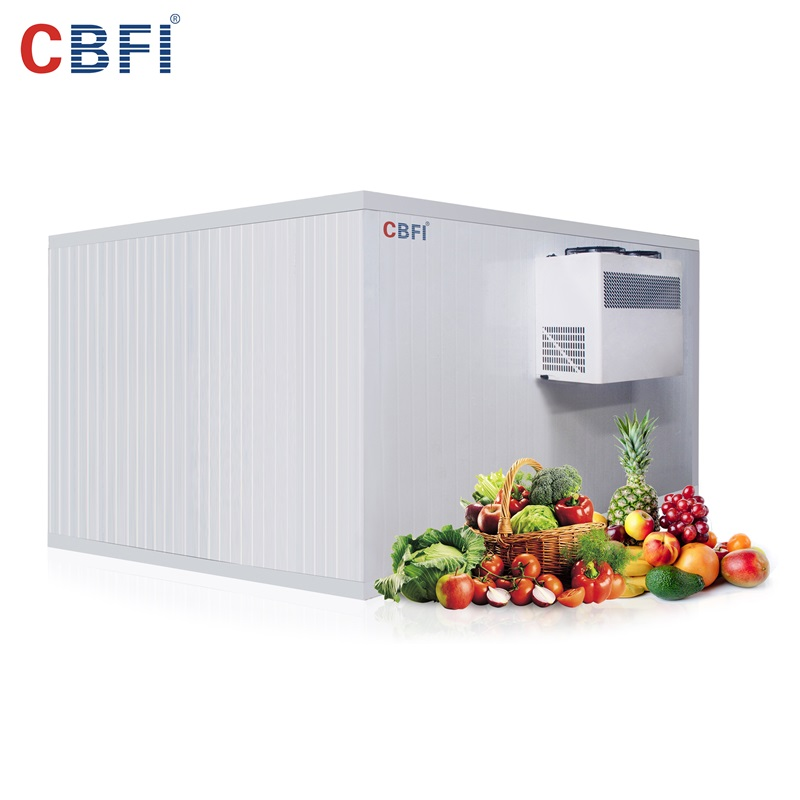 CBFI new arrival cold room unit for water pretreatment-10