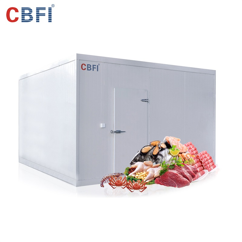 CBFI new arrival cold room unit for water pretreatment-11