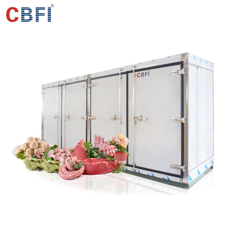CBFI new arrival cold room unit for water pretreatment-12