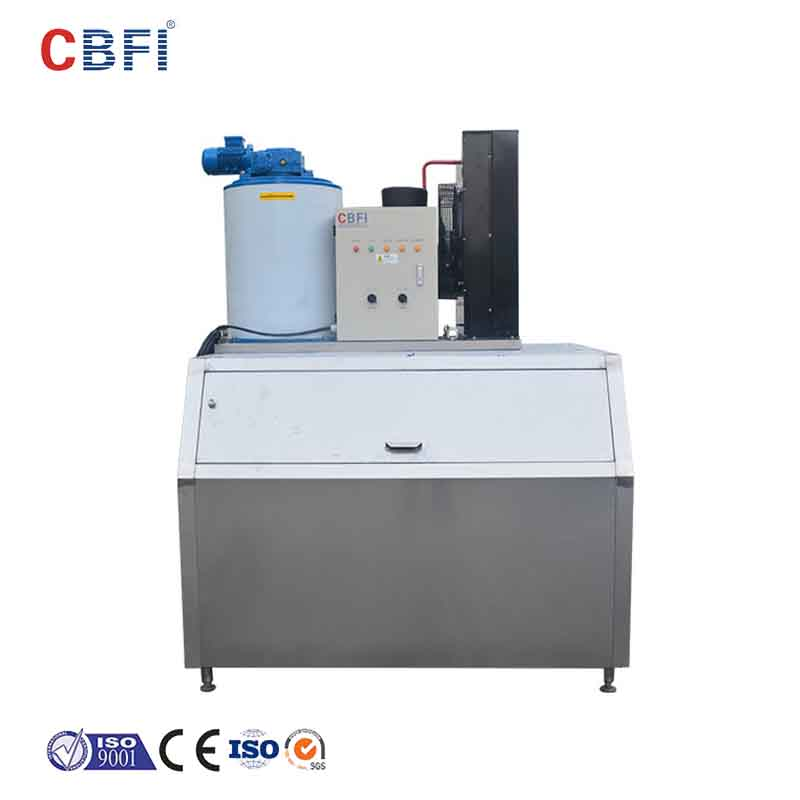 CBFI high-quality flake ice making machine free design for supermarket-13