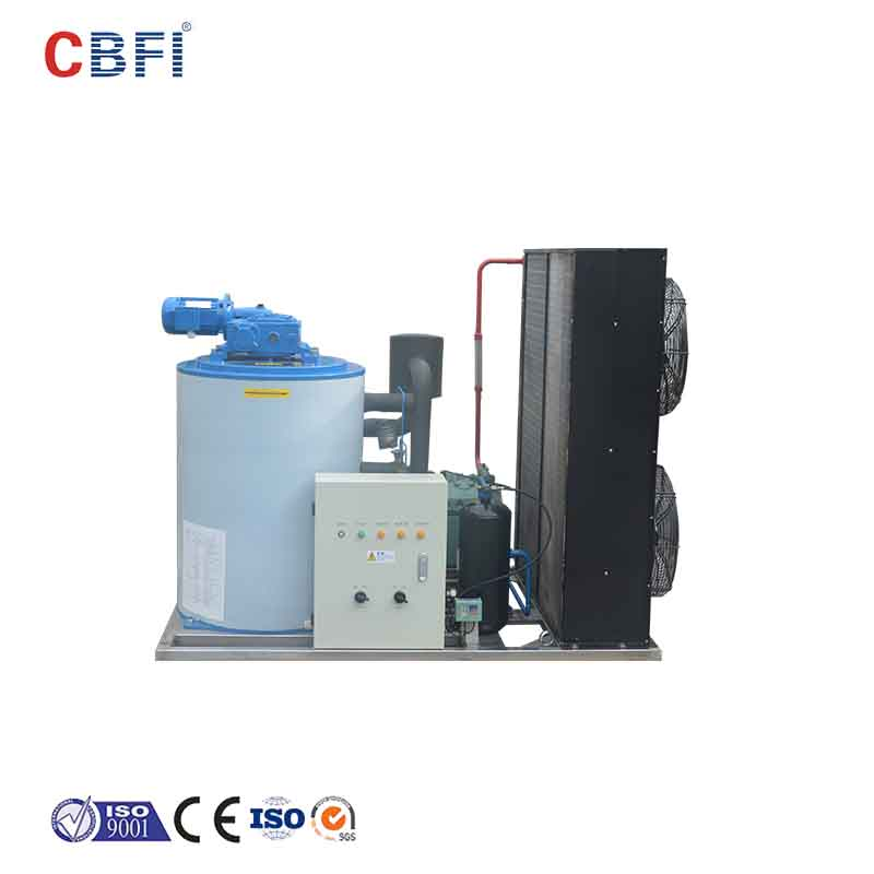 CBFI high-quality flake ice making machine free design for supermarket-14