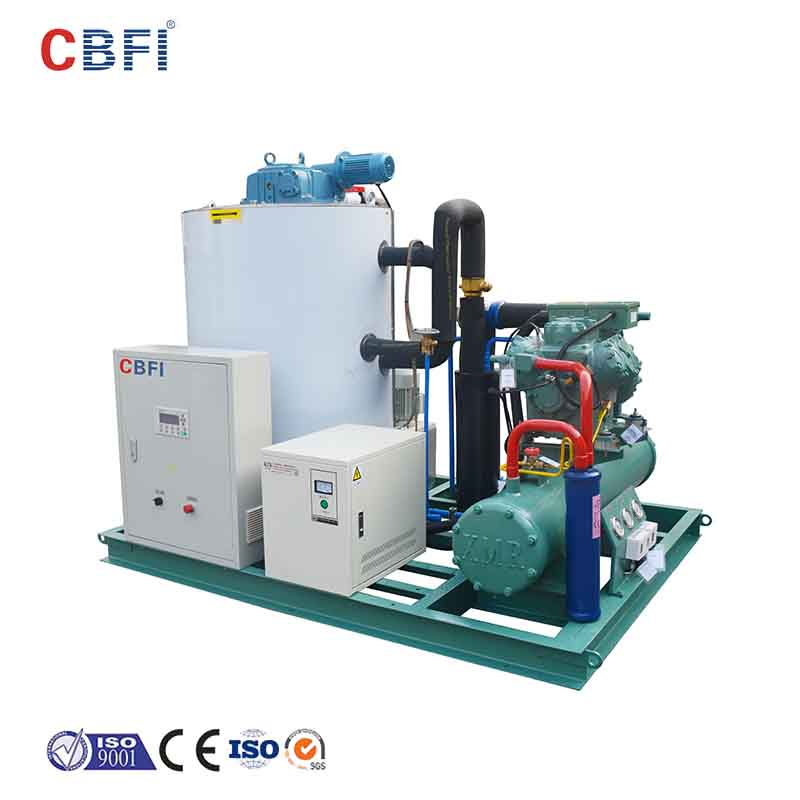 CBFI high-quality flake ice making machine free design for supermarket-15