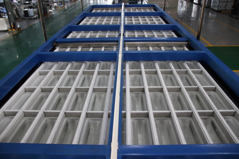 reliable direct cooling block ice machine abi newly for vegetable storage-5