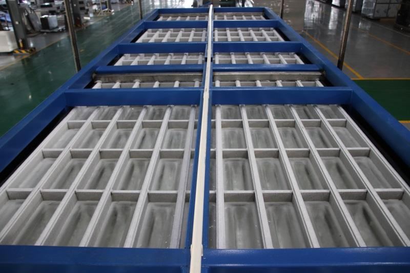 reliable direct cooling block ice machine abi newly for vegetable storage