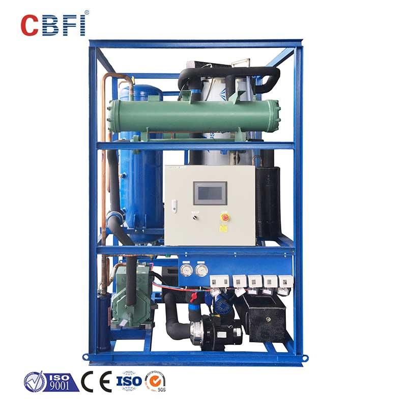 CBFI per ice maker with drain pump free design for fruit storage