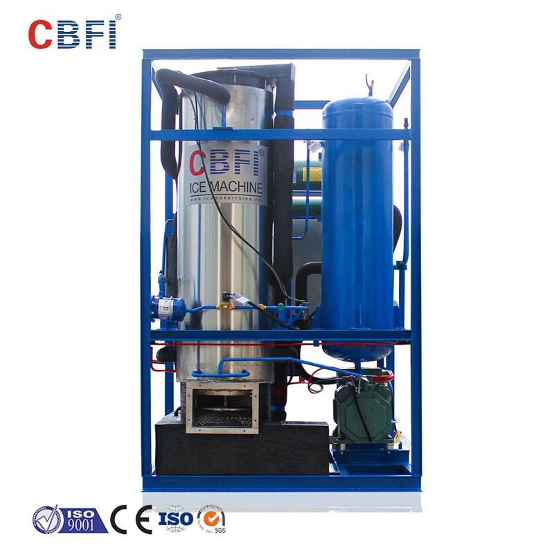 CBFI high reputation direct cooling block ice machine from china for vegetable storage