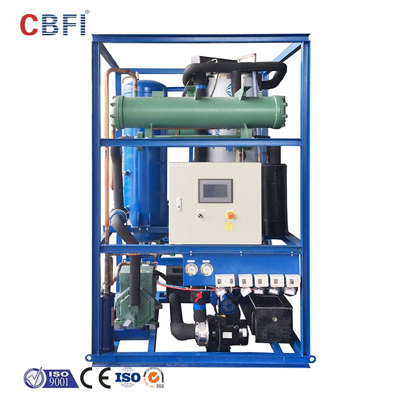 CBFI auto direct cooling block ice machine factory price for fruit storage-10