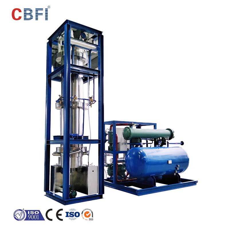 CBFI auto direct cooling block ice machine factory price for fruit storage-11