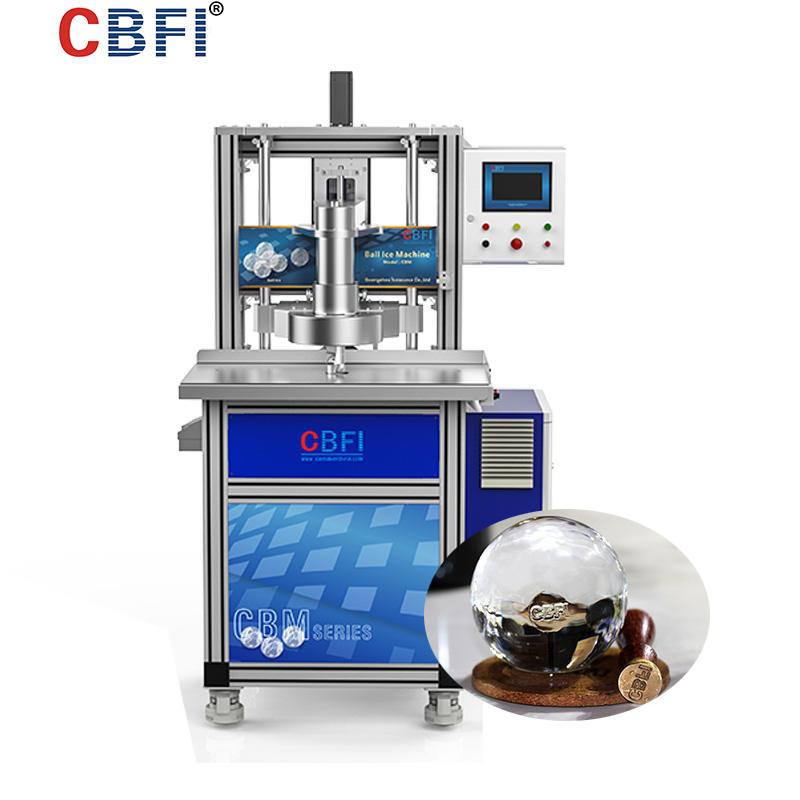 CBFI sculpture ice machine maintenance supplier for wine cooling