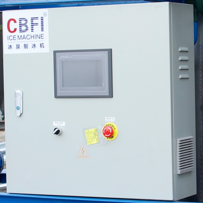 CBFI ice block making machine free design for wine cooling-10