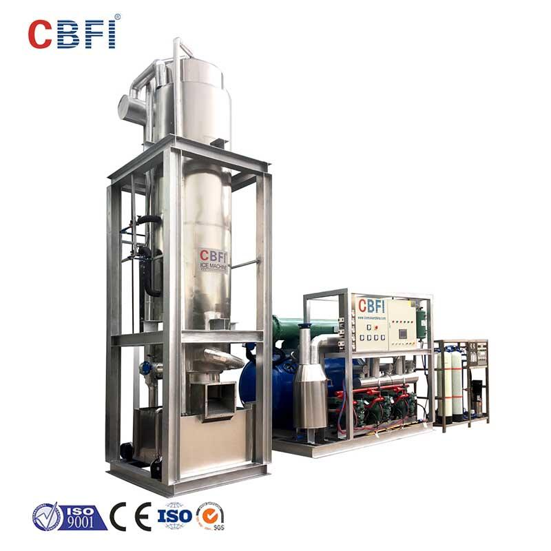 CBFI TV300 30 Tons Per Day Tube Ice Making Machine Plant