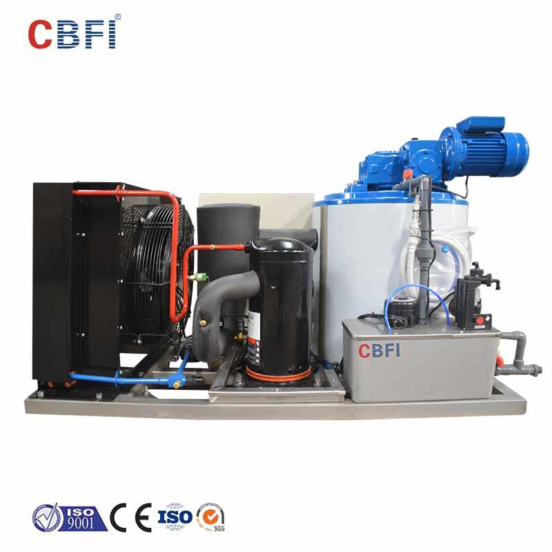CBFI seawater industrial flake ice machine bulk production for food stores