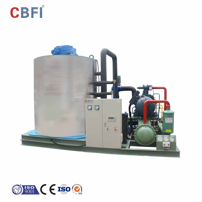 CBFI seawater industrial flake ice machine bulk production for food stores-13