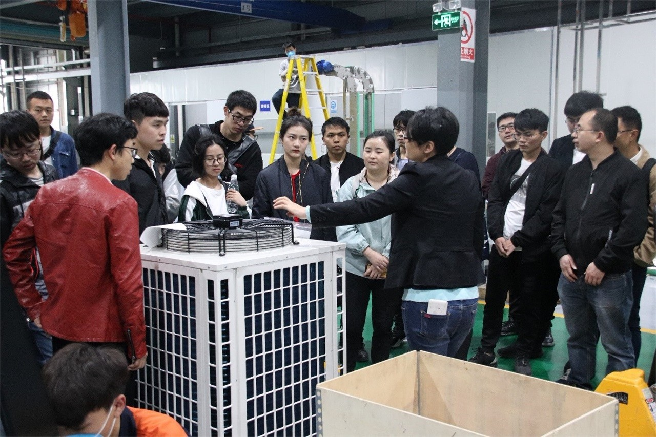 CBFI-Ice Cube Machine-students From University Of South China Visited Cbfi-2