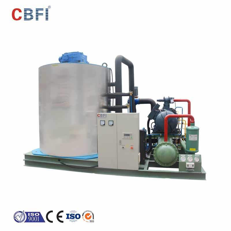 CBFI excellent ice flaker machine price supplier for aquatic goods