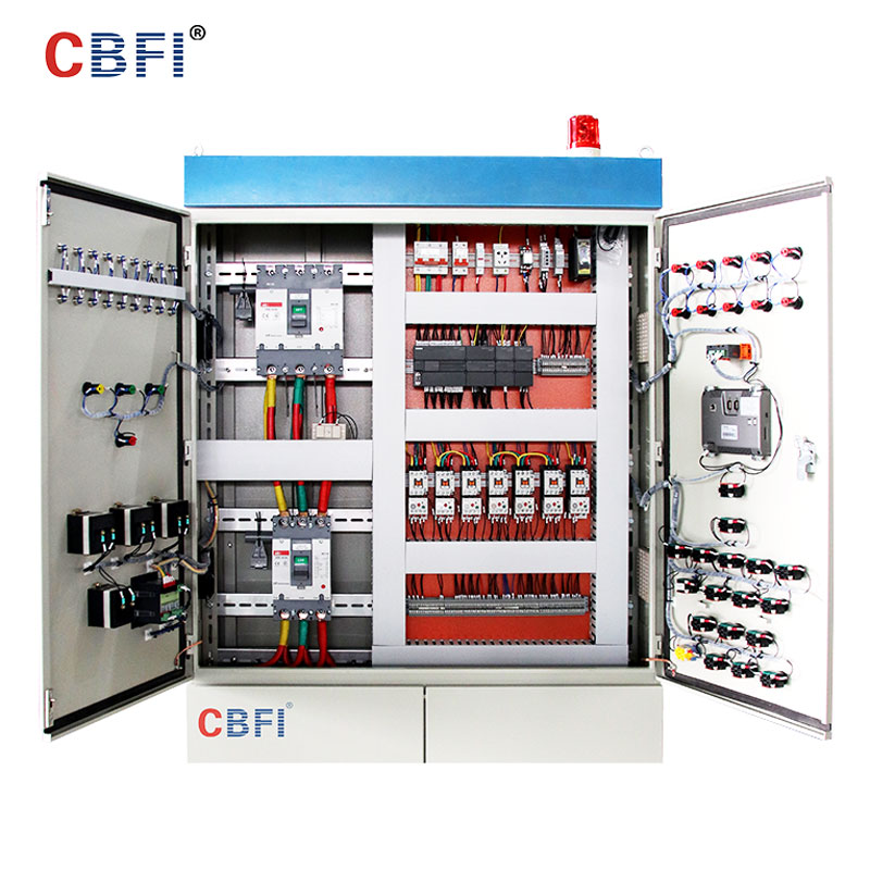 CBFI-CBFI AT60 60 Tons Per Day Ammonia Refrigerant Tube Ice Machine