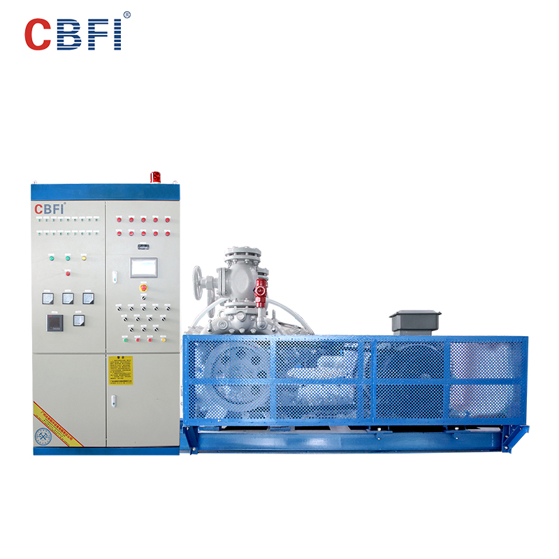 CBFI competetive price vogt tube ice machine for sale range for fish stores-2