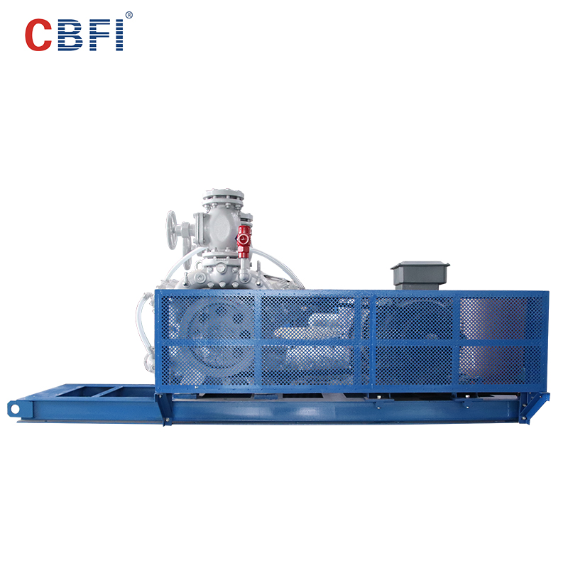 CBFI-CBFI AT60 60 Tons Per Day Ammonia Refrigerant Tube Ice Machine-1