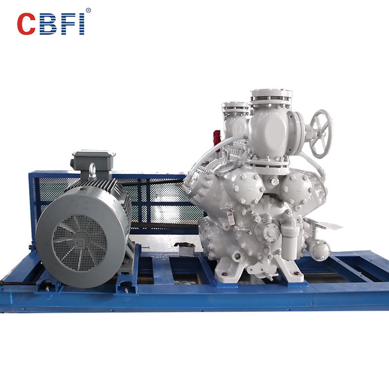 CBFI tons tubular ice manufacturing for cooling use
