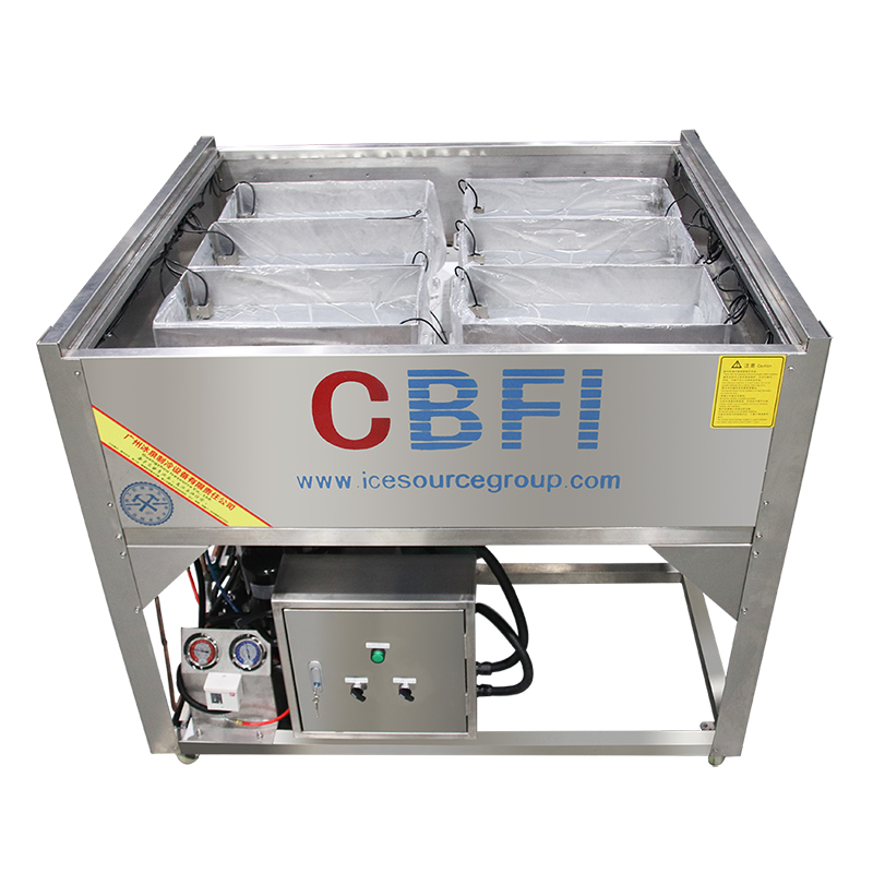 CBFI sculpture ice machine maintenance supplier for wine cooling-8