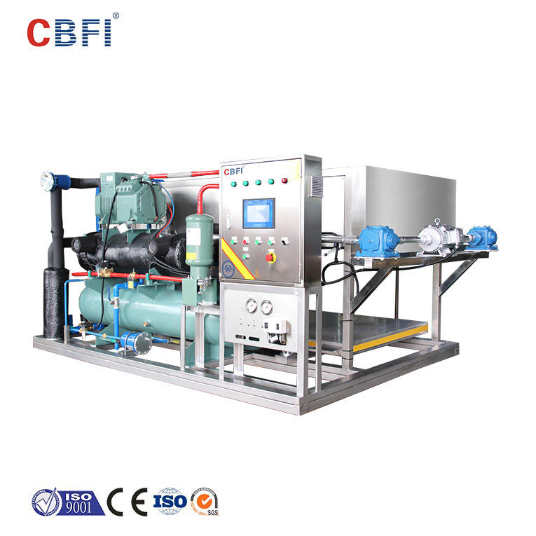 CBFI ABI10 1 Ton Per Day Direct Cooling Block Ice Machine