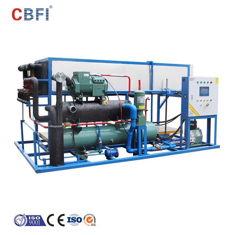 آلة تصنيع قوالب الثلج CBFI ABI30 3 طن في اليوم للتبريد المباشر
