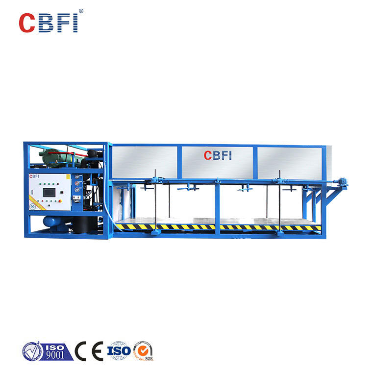 CBFI direct ice maker plant newly for vegetable storage