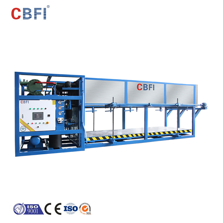 CBFI large capacity direct cooling block ice machine customized for freezing-1
