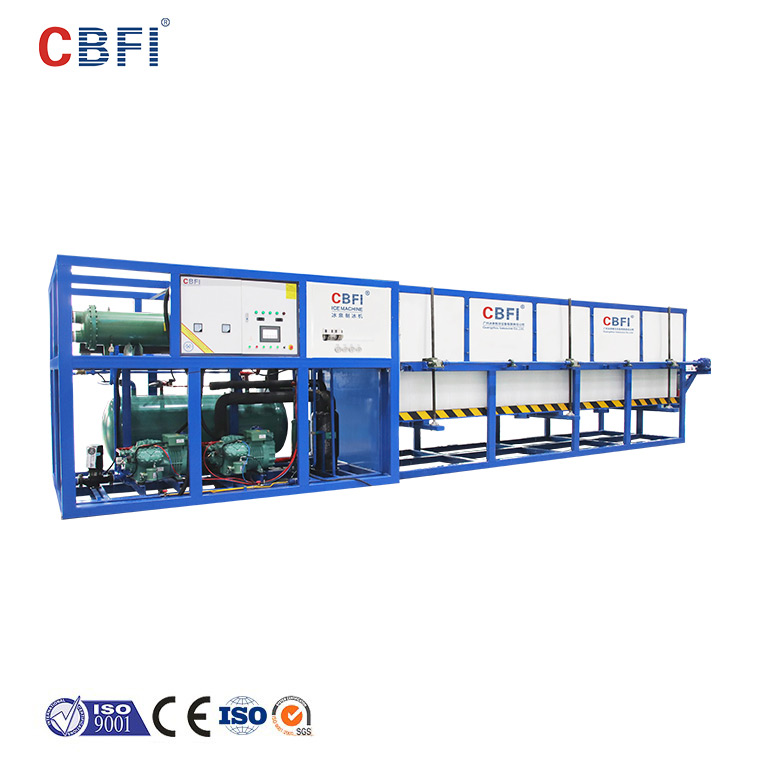 CBFI reliable direct cooling block ice machine manufacturer for fruit storage-1