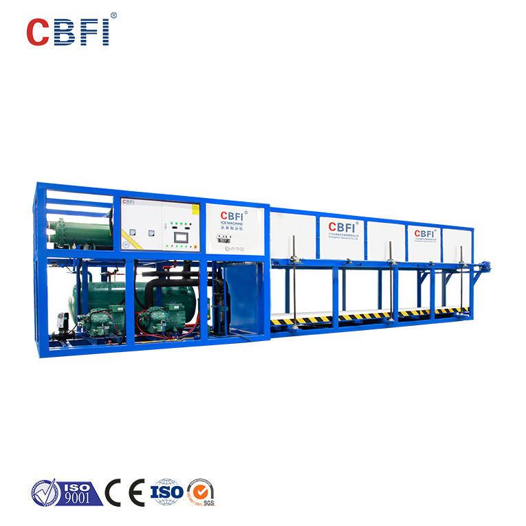 CBFI ABI300 30 طن في اليوم آلة تبريد بلوك الثلج المباشر