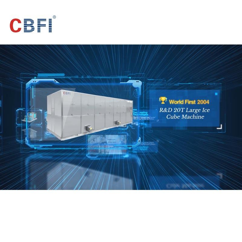 CBFI ICE MACHINES TECHNOLOGY HISTORY