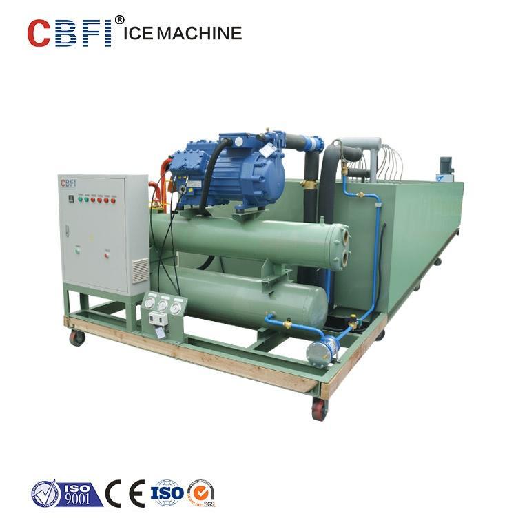 Льдогенератор блочного типа с рассолом