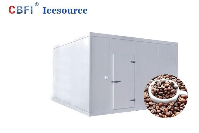 CBFI frozen cold room for meat and fish order now for fruit storage