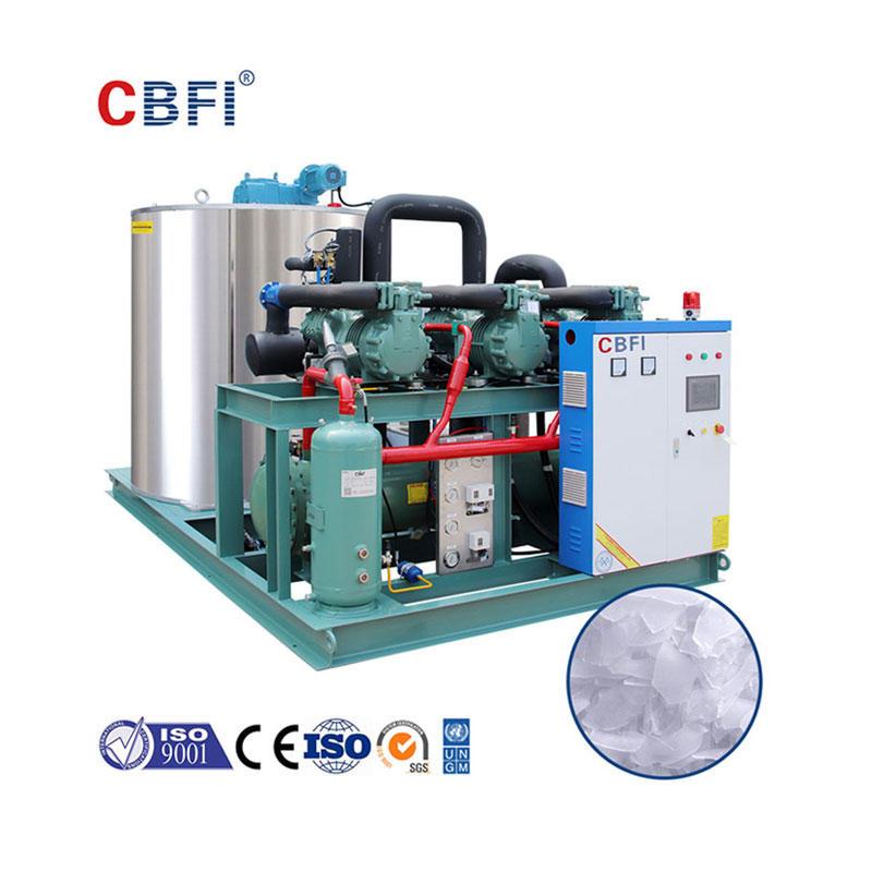 CBFI BF20000 Beton Soğutma İçin Günde 20 Ton Yaprak Buz Makinesi