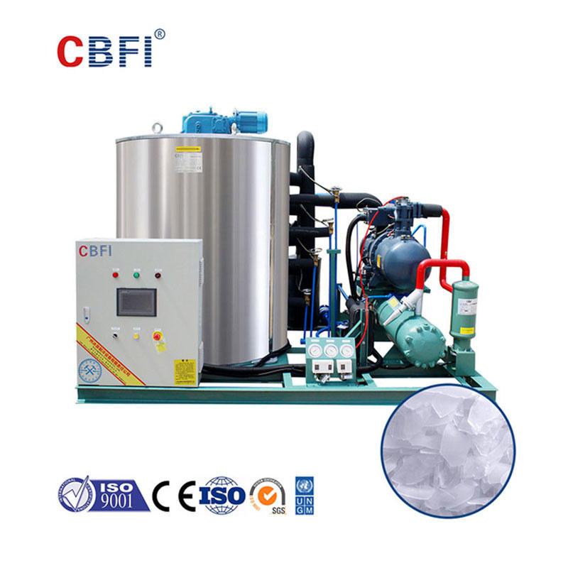 CBFI BF10000 Günde 10 Ton Deniz Suyu Tipi Yaprak Buz Makinesi