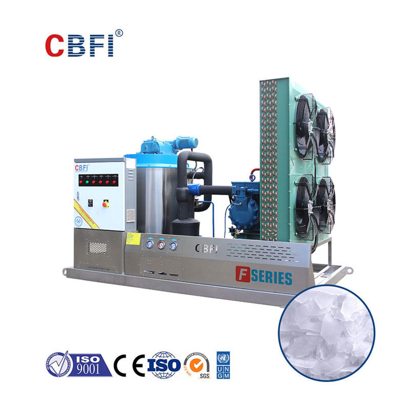 CBFI BF5000 5 Tons Per Day Containerized Ice Flake Making Machine