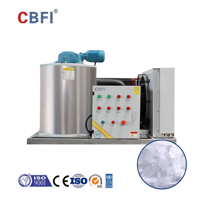 CBFI BF2000 Günde 2 Ton Buz Tanesi Üreticisi Kullanılan R404A