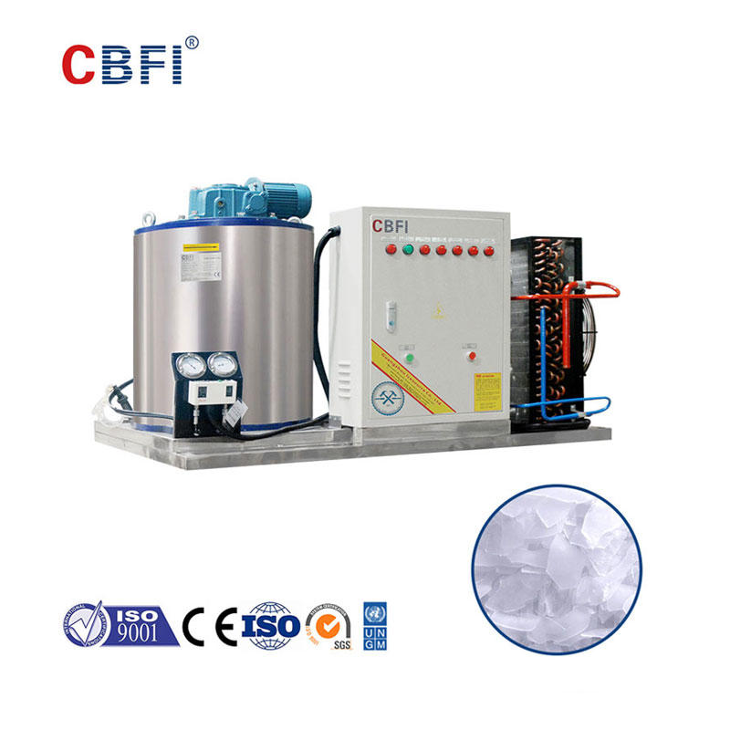 CBFI BF1000 1 Ton Per Day Flake Ice Maker For Fish Stores