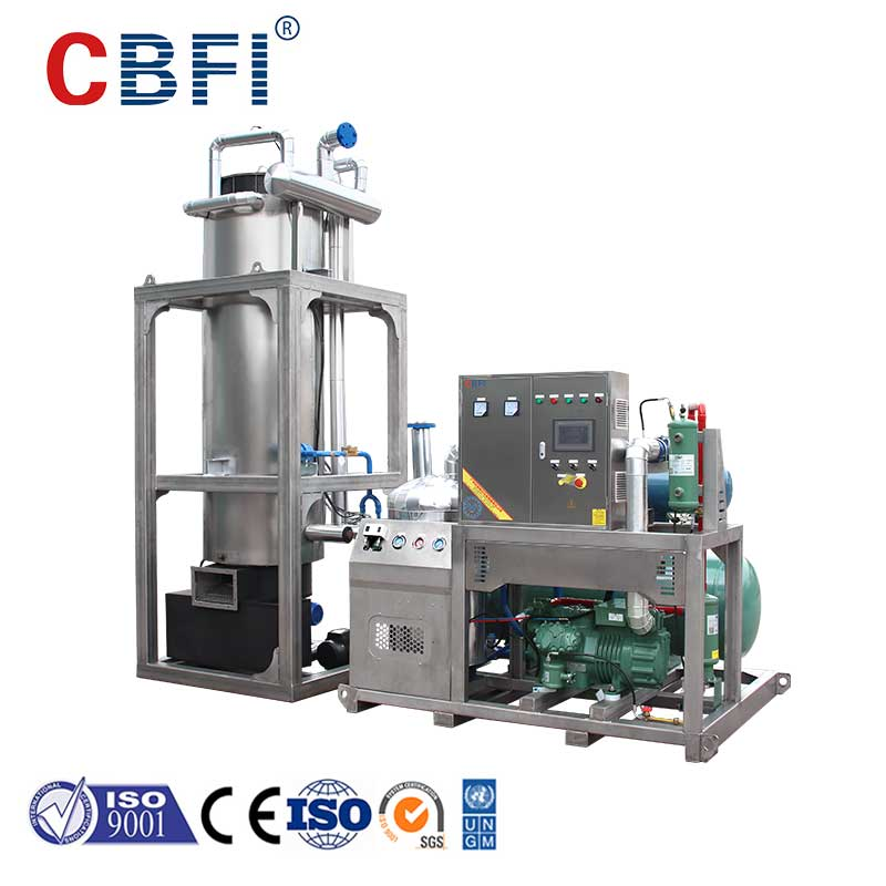 CBFI durable ice tube bulk production for aquatic goods-2