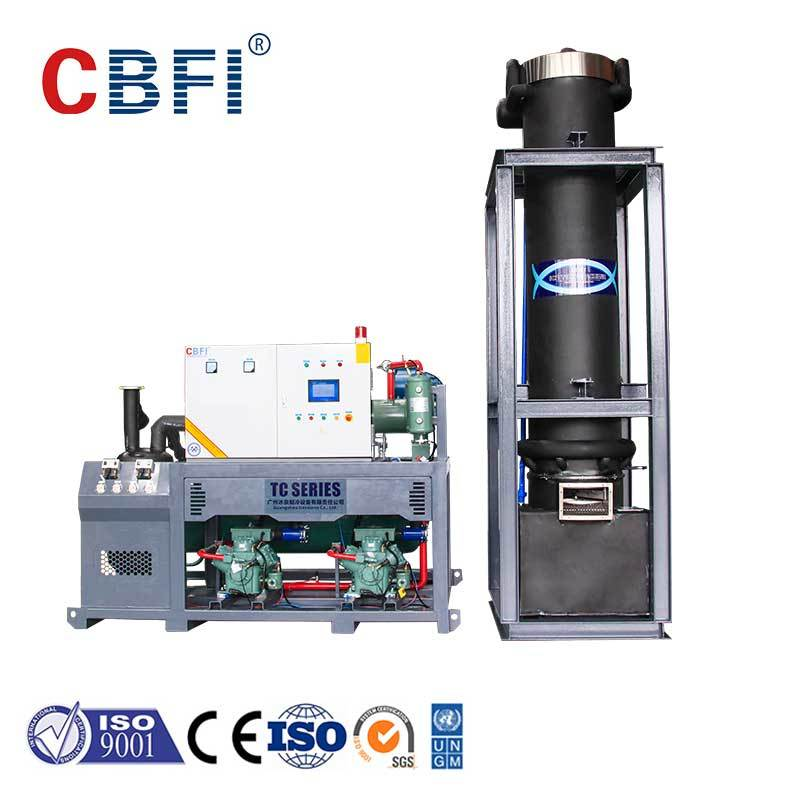 CBFI professional ice crusher machine manufacturer for aquatic goods