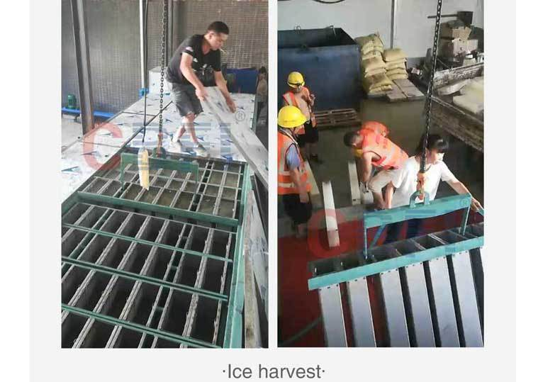 10 Tons Ice Block Machine for Zhengwan Railway Project