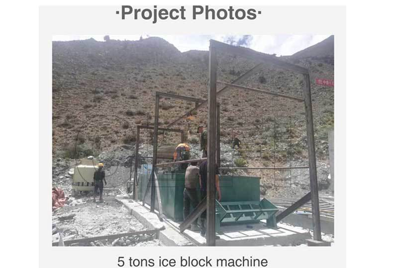 5Tons Ice Block Machine for Bureau Lagang Tunnel Project