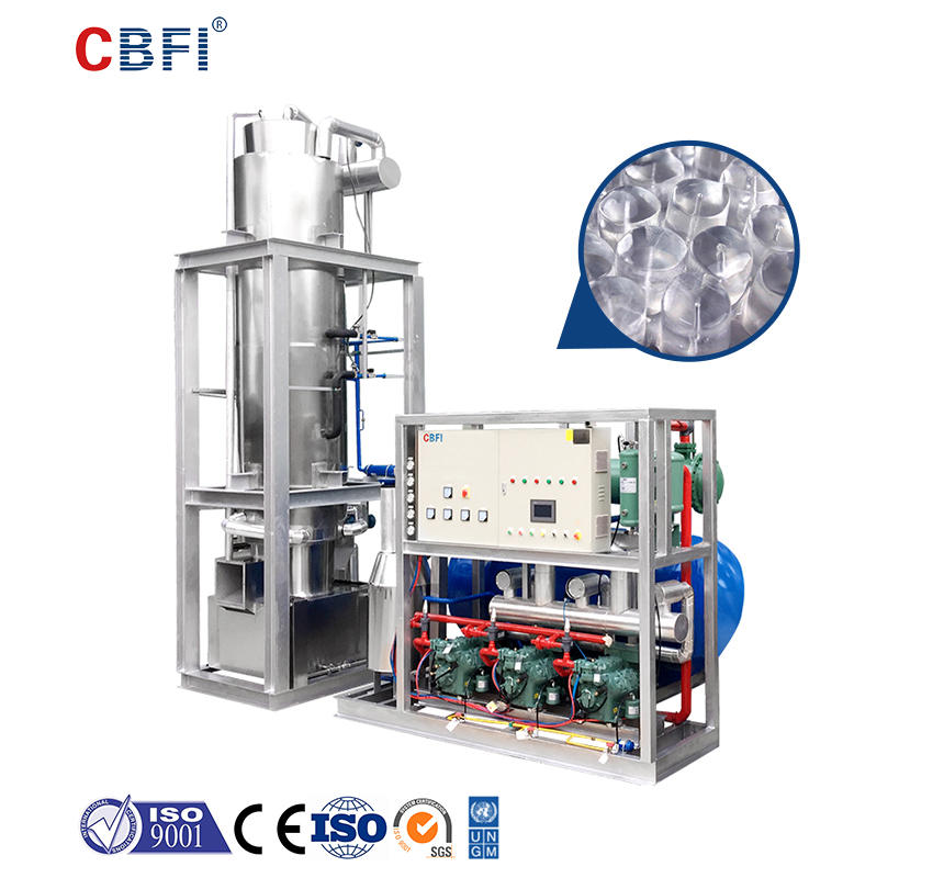 CBFI TV300 30 tons Tube Ice Machine