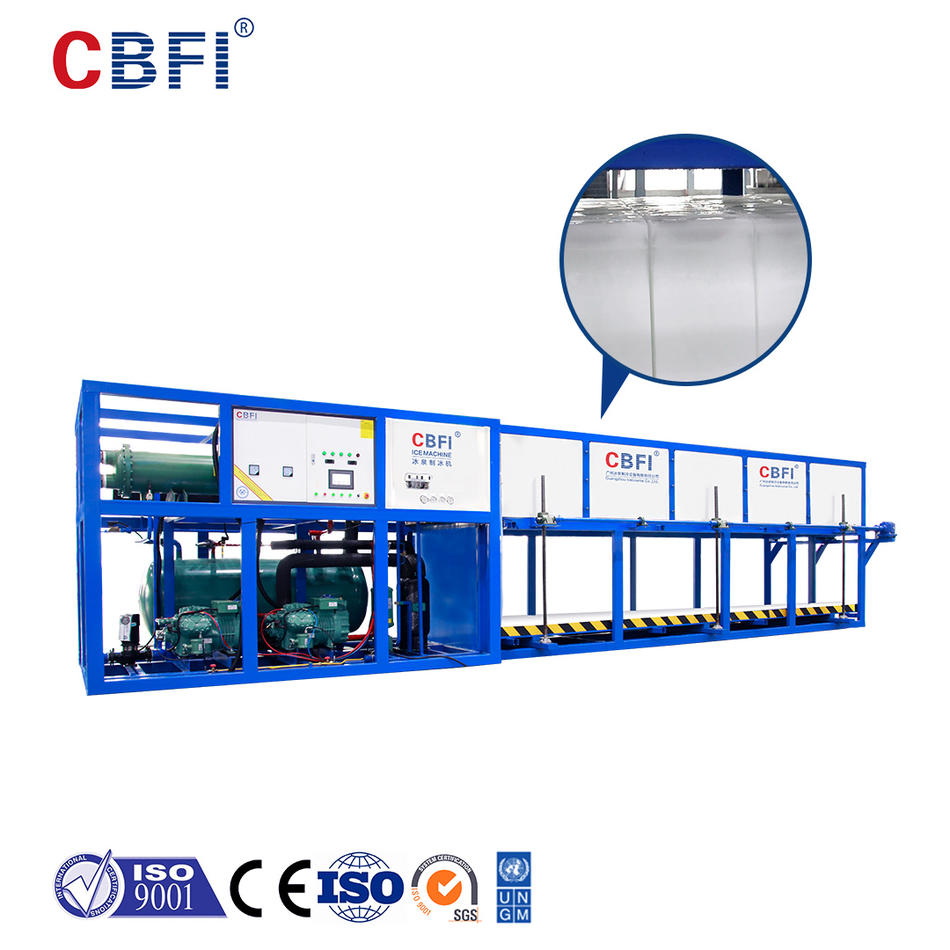 CBFI New generation automatic block ice machine