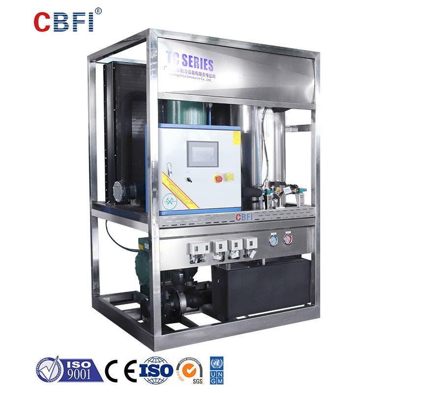 CBFI TV10 1 Ton Per Day Tube Ice Making Machine For Drinks