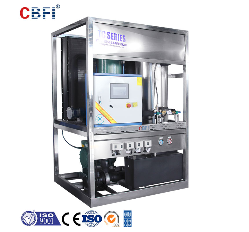 CBFI durable tube ice machine for sale bulk production for ice sculpture-1