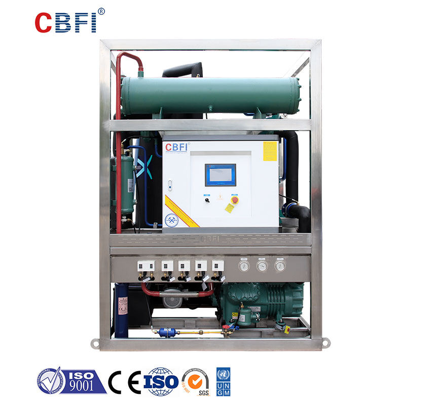 CBFI under counter ice maker free design for aquatic goods-1